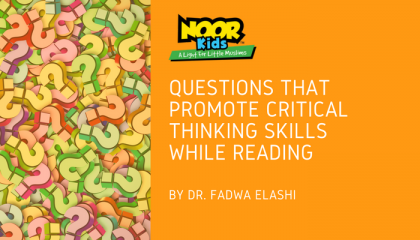 Questions that Promote Critical Thinking Skills While Reading