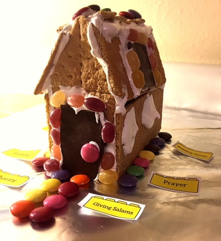 build your home in Jannah with graham crackers