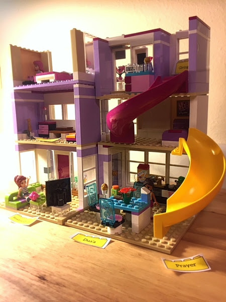 Build your house in Jannah with LEGOS