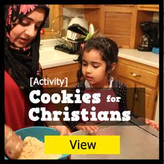 Cookies for Christians - Islamic activities for Muslim kids
