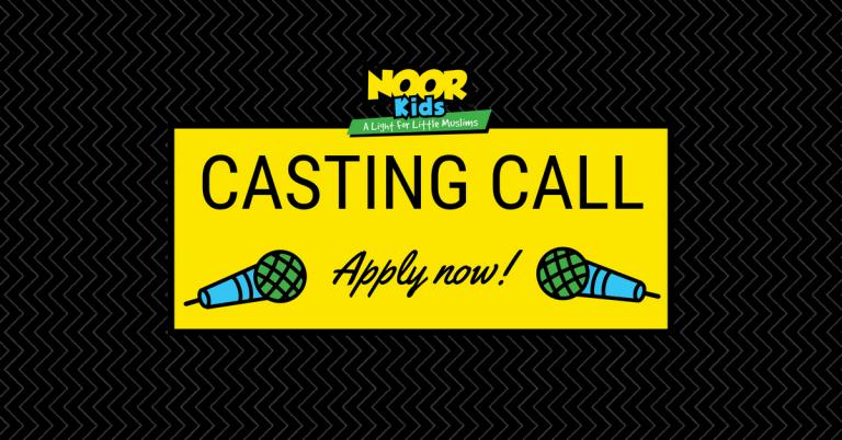 Casting Call: Children's Voice Actors for Noor Kids